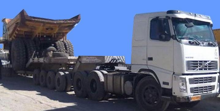 ارائه ارزان ترین قیمت باربری تریلی کمرشکن اسلامشهر به شهرستان